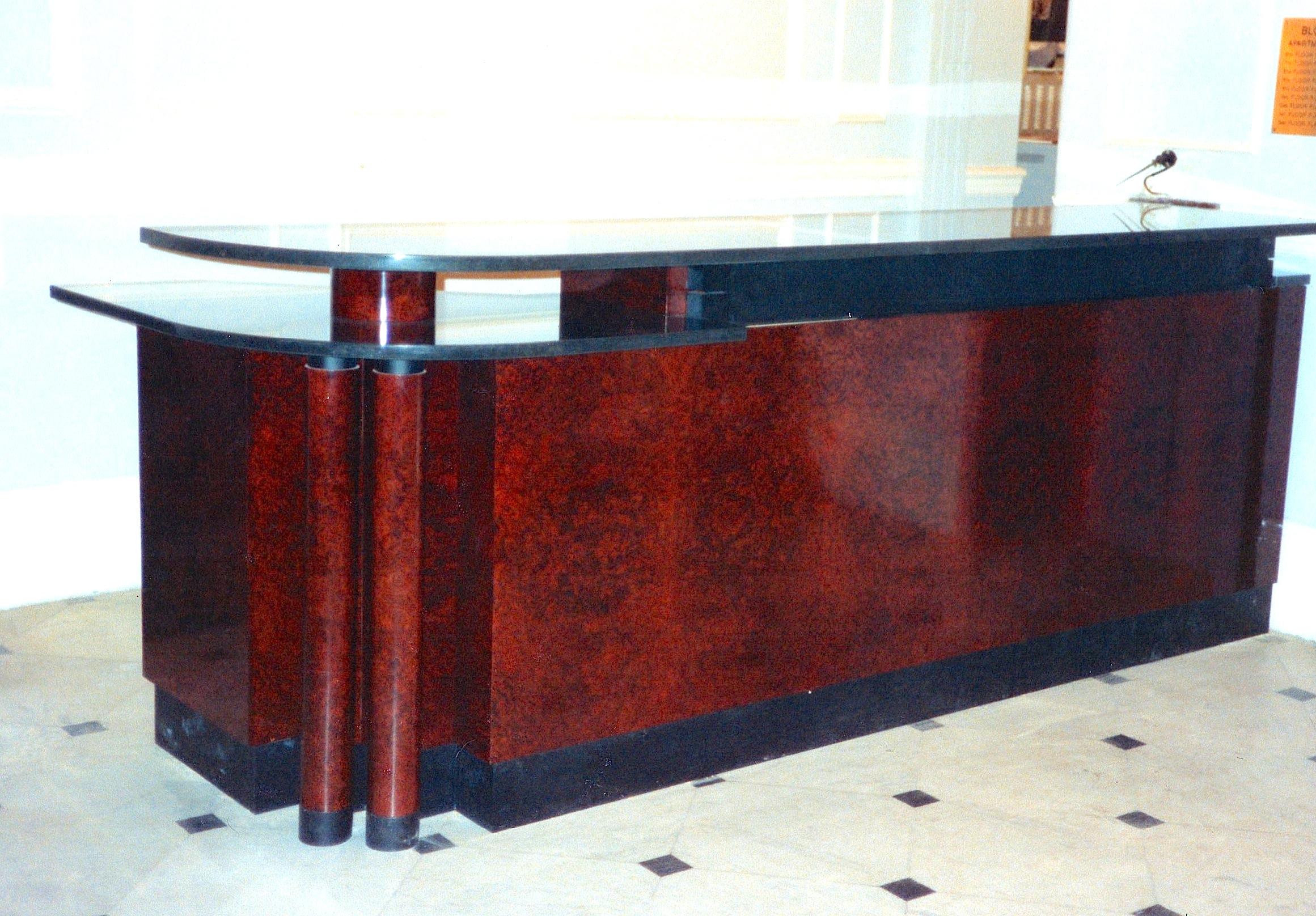 Albert Hall Reception Desk