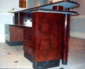 Albert Hall Reception Desk end