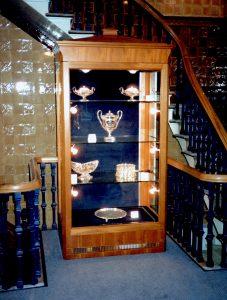 Mahogany-Display-Cabinet