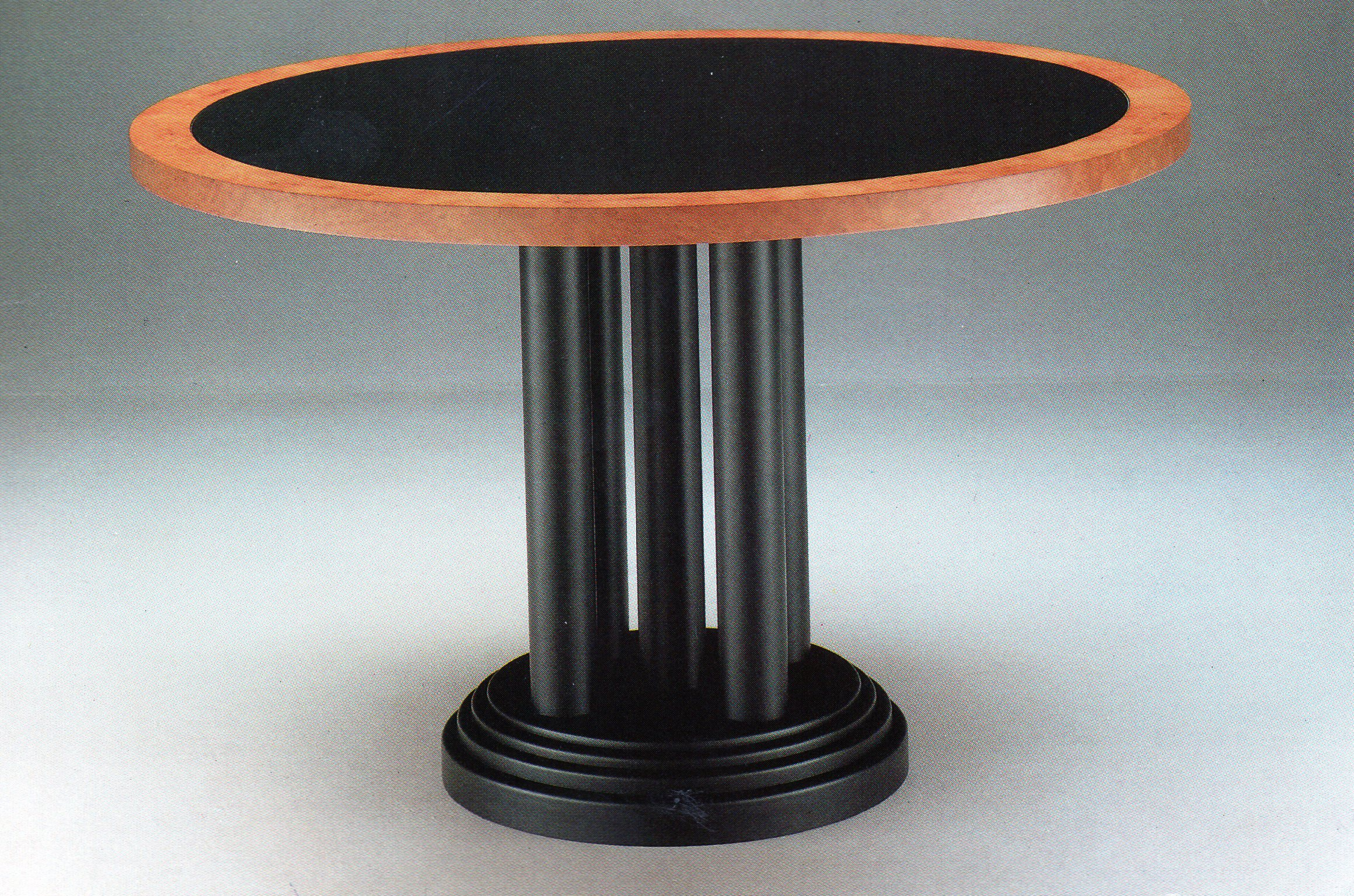 Madrona-Burr-And-Black-Lacquer-Table