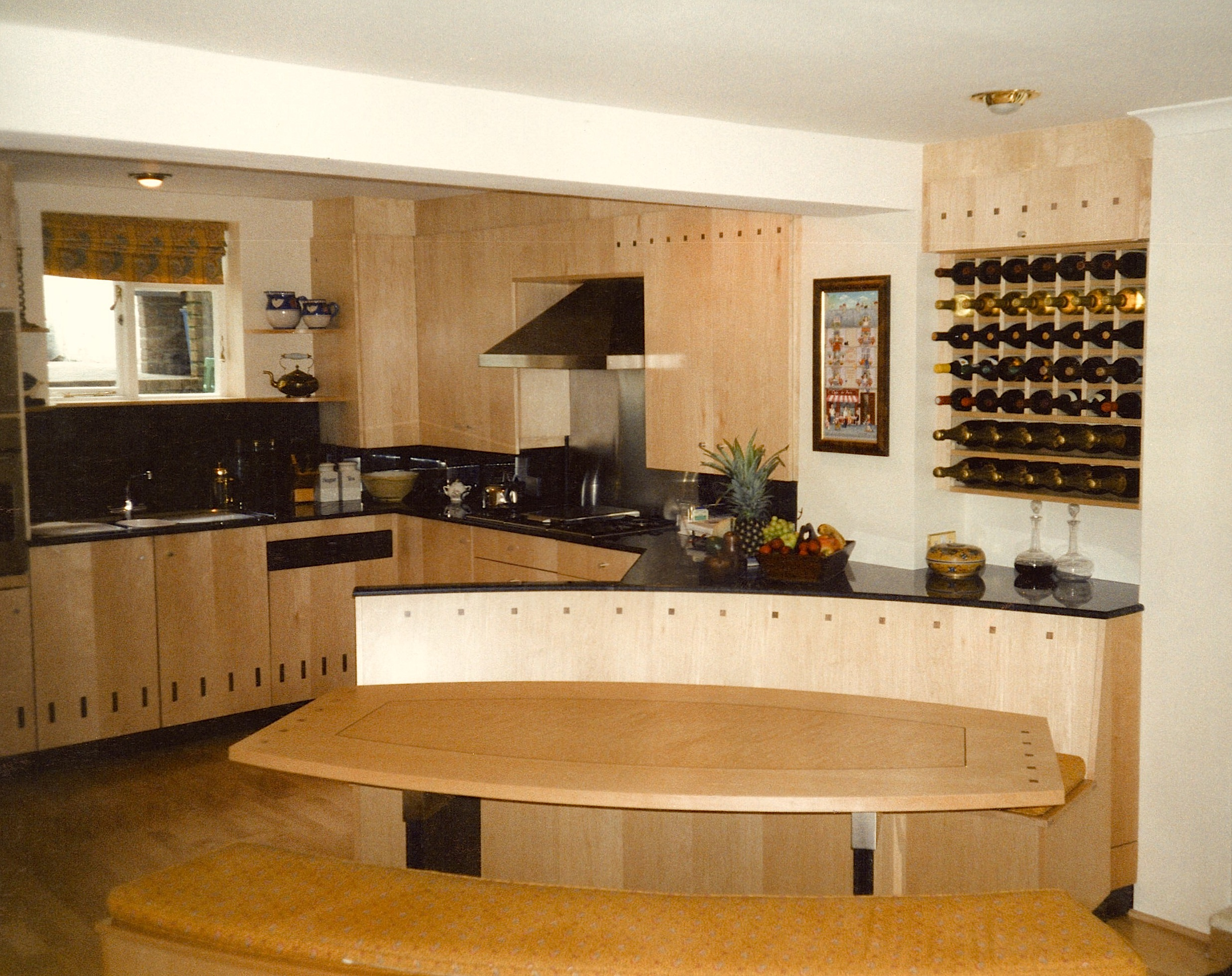 Hard-Maple-Kitchen-With-Walnut-Inlays
