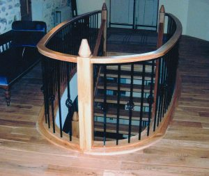 Solid-Oak-Staircase-Steel-Spandrel-Cage-Detail