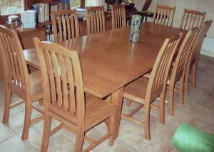 Chestnut-Table-And-Chairs